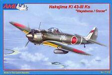 "Chasseur Japonais NAKAJIMA Ki 43-III Ko ""Hayabusa/Oscar"" - KIT AML 1/72 n° 72030"