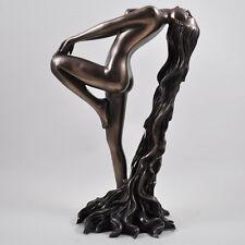 """Arising"" Art Deco Lady Cold Cast Bronze Sculpture / Figurine.New & Boxed"
