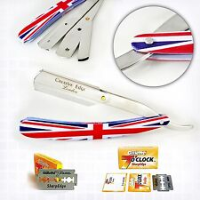 New Barber Cut Throat Salon Straight Shaving Razor Shavette Rasoi Rasoirs BLADES