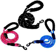 Laisse Pour Chien corde réfléchissante Nylon Solide Robuste Sortie Promenade FR