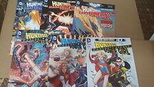Batman Comic Lot new 52 HUNTRESS POWER GIRL 0 1-5 NM bagged