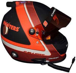 AUTOGRAPHED Chase Elliott 2020 Hooters NIGHT OWL Signed NASCAR Full-Size Helmet