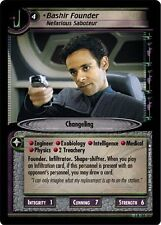 Star Trek CCG 2E Call To Arms Bashir Founder, Nefarious Saboteur 3R150