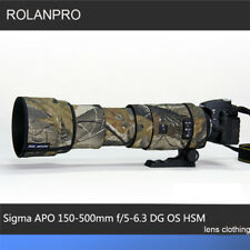 Reversible Waterproof Camera Lens Cover for Sigma 150-600mm SPORT f//5-6.3 HSM