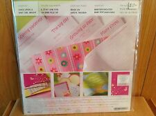 NIP Creative Memories ONCE UPON A BABY GIRL BRIGHT  Album Kit