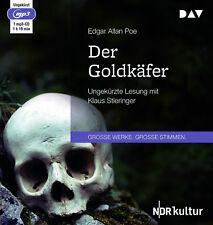 Der Goldkäfer von Edgar Allan Poe (31.08.2018, MP3-CD)