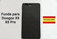 Funda para Doogee X5 X5 Pro Silicona TPU color negro.