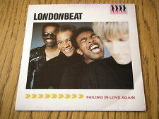 """LONDONBEAT - FALLING IN LOVE AGAIN   7"""" VINYL PS"""