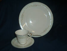 Royal Doulton, STEPHANIE,  Dinner Plate and Cup & Saucer