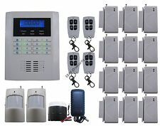R04 Quad-Bands GSM PSTN Wireless DIY Home Security Alarm Burglar System SMS Dial