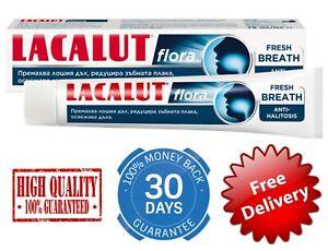 Lacalut Flora Toothpaste 75ml FRESH BREATH ANTI HALITOSIS