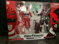 POWER RANGERS LIGHTNING COLLECTION LOST GALAXY RED RANGER PSYCHO RED RANGER