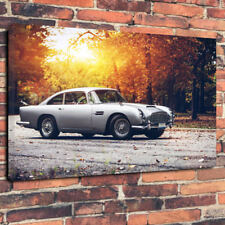 "Vintage British Luxury Car Fall Printed Canvas Picture A130""x20""x30mm DeepGarage"