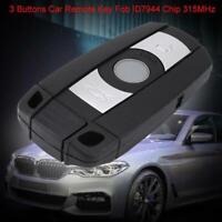 Remote Car Key Entry Fob Keyless 868MHz For BMW CAS3 X5 X6 Z4 1/3/5/7 E70 E71