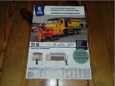 KAMAZ 65115 T2532 6x4 Truck LKW Camion brochure prospekt catalogue