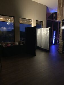Photo booth complete setup