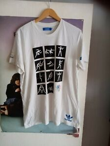 Adidas Originals Xl Olympic Games Museum 1984  T - Shirt