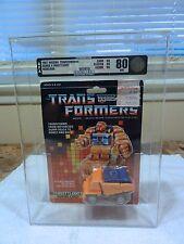 1987 Transformers AFA Series 4 Throttlebot Wideload Sealed MISB MIB BOX