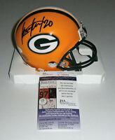 PACKERS Kevin King signed mini helmet w/ #20 JSA COA AUTO Autographed STAR DB