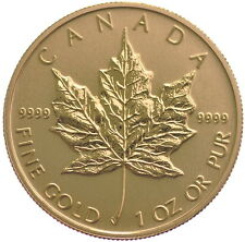 1oz Gold Canadian Maple