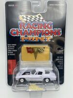 1963 Chevy Corvette Racing Champions Mint White 1:53 Scale FREE SHIPPING