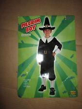 Boys PILGRIM BOY Halloween Costume standard size M Md med 8 - 10