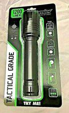 Promier 1200 lumen Tactical Flash Light Slim 2 modes Batteries Included