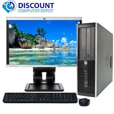 "HP Pro Desktop Computer Tower PC 2.8GHz 4GB 160GB 17""LCD Windows 10 Wifi DVD-RW"