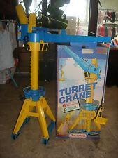 1970' 80' Ancienne GRUE à Tour Electrique JOUSTRA 3929 Turret Crane Teleguidée