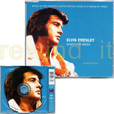 "ELVIS PRESLEY ""SUSPICIOUS MINDS"" RARE CDsingle 1999 LIMITED ED"