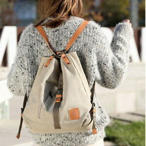 Damen Rucksack Tasche Mädchen Handtasche Hobo-Bag Schultertasche Umhängetasche