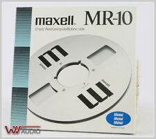 Maxell MR-10 (N) Empty Metal Reel 26,5 cm Price for one Piece.10 Inch.