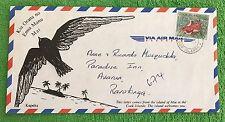 RARE ATIU COOK ISLANDS VIA AIR MAIL COVER & FREE GIFT WITH ORDER!