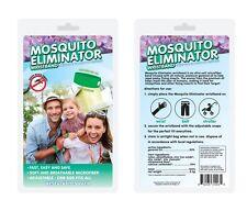 Mosquito Repellent Bracelet Band All-Natural Repeller Refills Deet Free 5pcs
