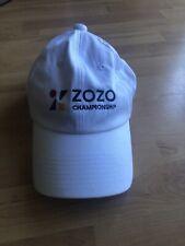 Zozo Golf Tournament Hat Cap Japan Tiger Woods