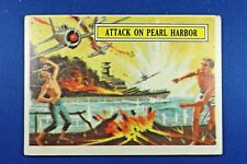 1965 Topps Battle Cards - #2 Attack On Pearl Harbor - Good Condition