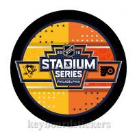 2019 Stadium Series Dueling Hockey Puck Pittsburgh Penguins Philadelphia Flyers
