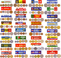 160 OLD COINS FROM 32 DIFFERENT WORLD COUNTRIES. MEGA PACK. HIGH VALUE.