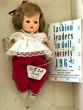 1962 Ginny Doll family Vogue Dolls brown hair with book