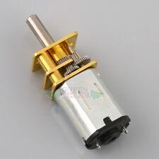 N20 DC6V Gear Motor Micro Geared Box Electric Motor Speed Reduction 600RPM DIY