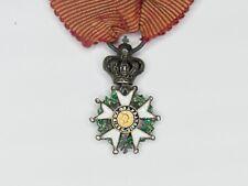 Médaille miniature de la légion d'honneur d'époque Second Empire. Bon état