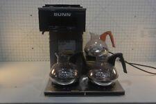BUNN  COMMERCIAL COFFE MAKER POUR OVER BREWER MODEL VP17-3, 3L SST.   COMPLETE .