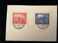 Deutschland Alliierte Besetzung 07.09.1947 -Sonder Stempelkarte Leipziger Messe