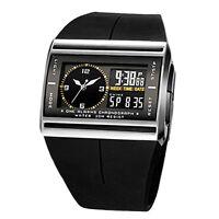 Herren Digital LED Armbanduhr Sportuhr wasserdichte Uhr-Herrenuhr
