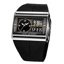 Herren Digital LED Armbanduhr Sportuhr wasserdichte Uhr Herrenuhr