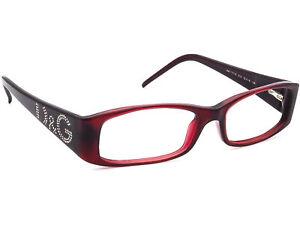 Dolce & Gabbana Eyeglasses D&G 1103-B 615 Dark Red Rectangular Frame 52[]16 135