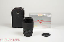 Sigma lens 70-210 mm. F. 4-5.6 MF per Nikon - Garanzia Tuttofoto.com