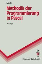 Methodik der Programmierung in Pascal von Rudolf Marty (1994, Taschenbuch)