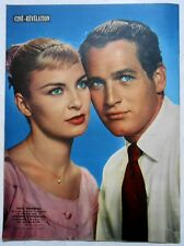 ►CINÉ-RÉVÉLATION 222/1958-VERA VALMONT-PAUL NEWMAN-WOODWARD-DALIDA-DIRK BOGARDE