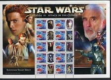 Star Wars Episode: Attack of The Clones - Special Events Sheetlet